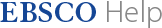 EBSCO Support logo